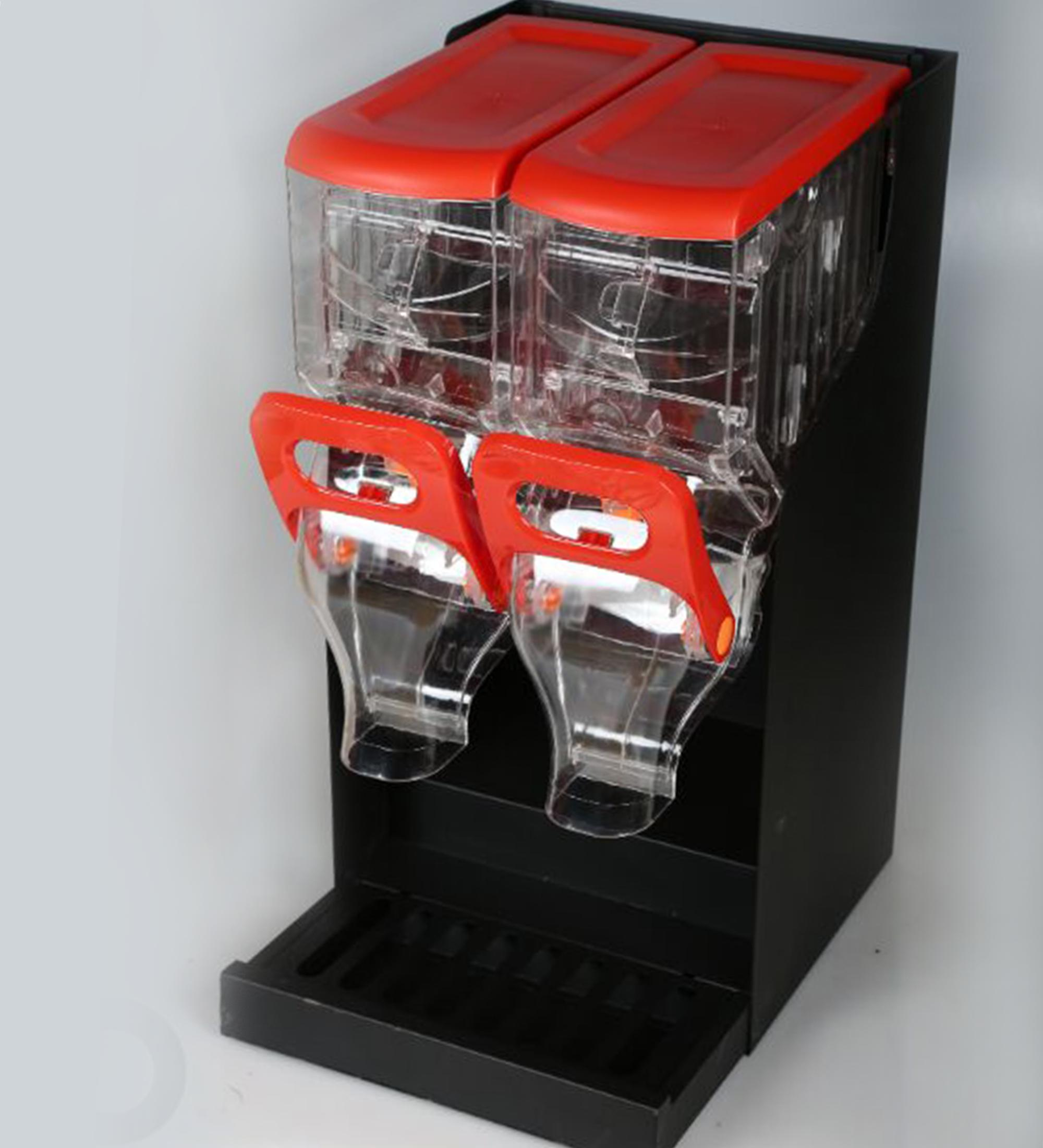 double candy display stand