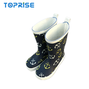 Inexpensive Toddler Baby Wellington Customized Children Rubber Rain Boots