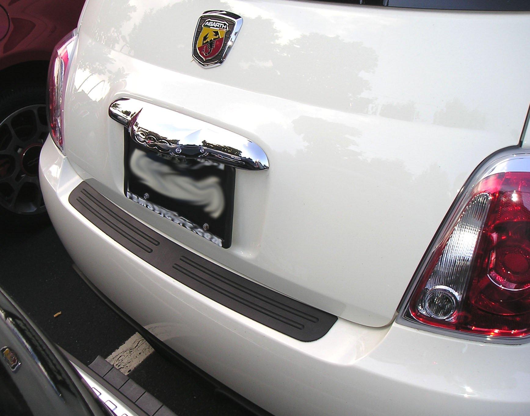 Rear Bumper Protector Fits 2012 - 2017 12 13 14 15 16 17 Fiat 500 Abarth