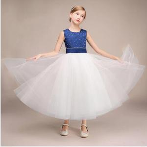 fad9b59dce04 Fashion Girls Summer Dress 2018 Teenagers Girls Party Gowns Dress Age Size  6 7 8 9