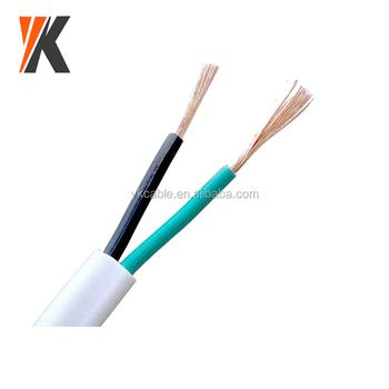 Mechanical Equipment Vde H03vvh2-f 2x0.5mm2 2x0.75mm2 Pvc Ultra-thin ...