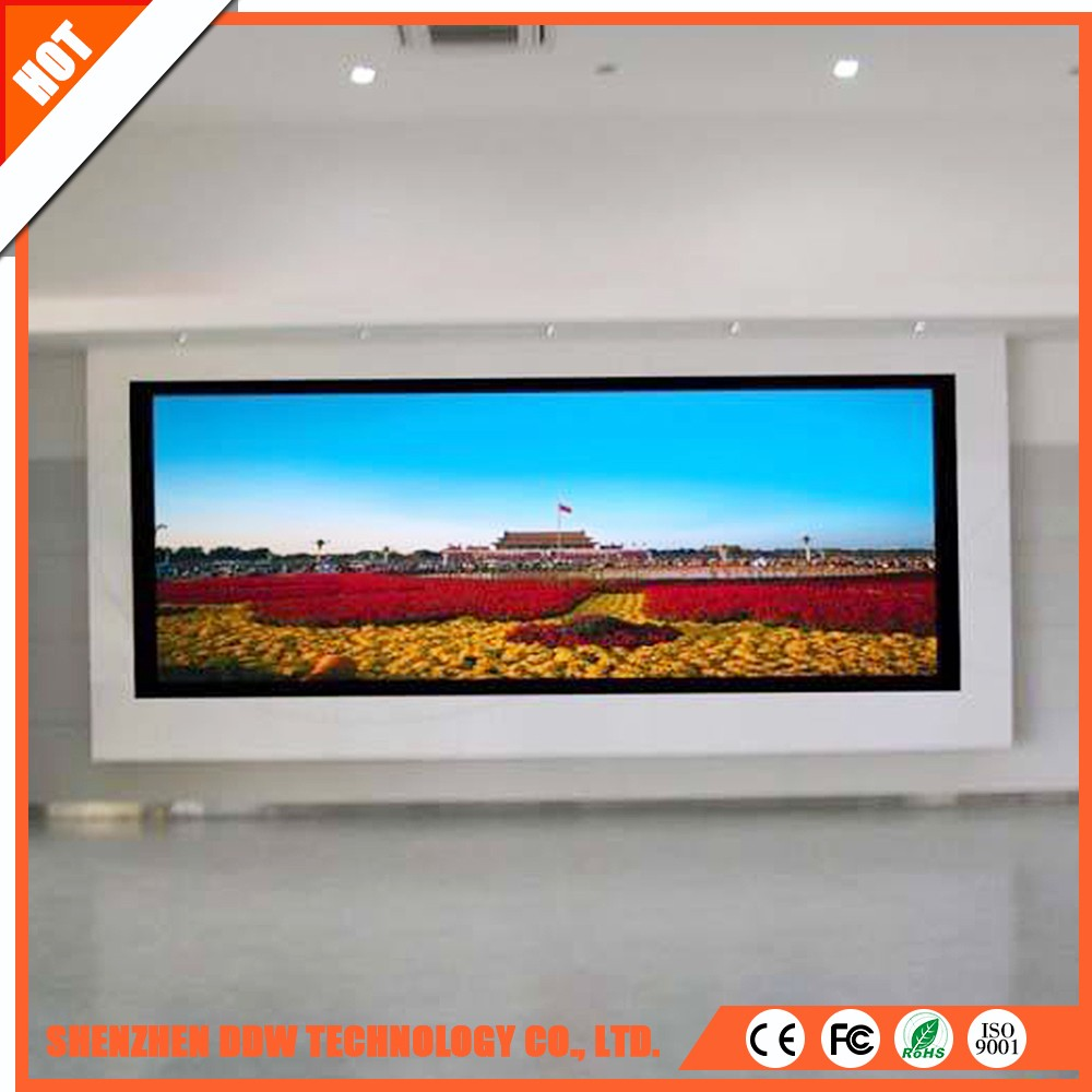 China wholesale market P2/P3/P4/P6/P8/P10 indoor advertising price screen board led wall display
