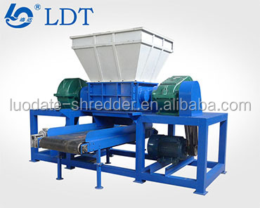 Empty fruit bunch and sugar cane shredder with sharp blade design