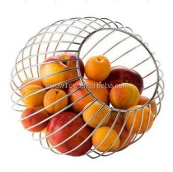 Wrought Iron Fruit Baskets Wire Basket Metal Holder