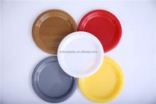 rcipient de nourriture jetable ronde hot vente color eco friendly plaques pour le mariage parti - Vaisselle Colore Pas Cher