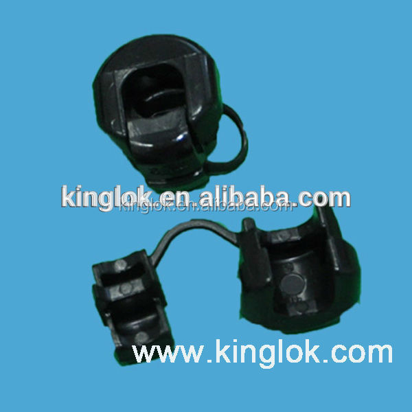 Cable Wire Strain Relief Bushing Black Strain Relief Plastic Bushing ...