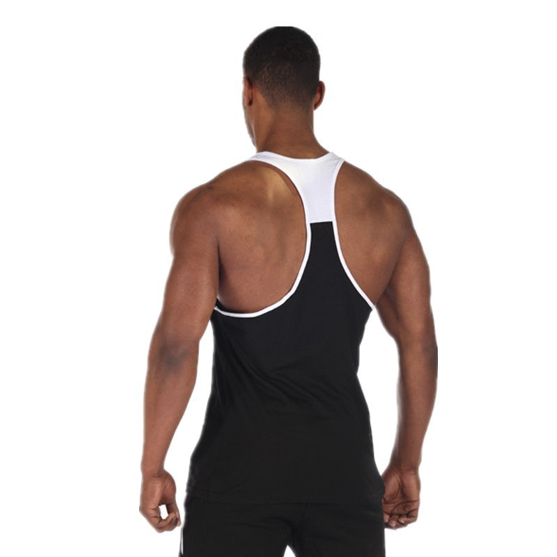 Fitness 2016 Cotton Gym Tank Top Men Sleeveless Tops For