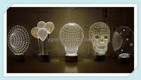 Lamp Mini Balloon 3D Lighting Effects Optical Illusion Home Decor LED Table Lamps
