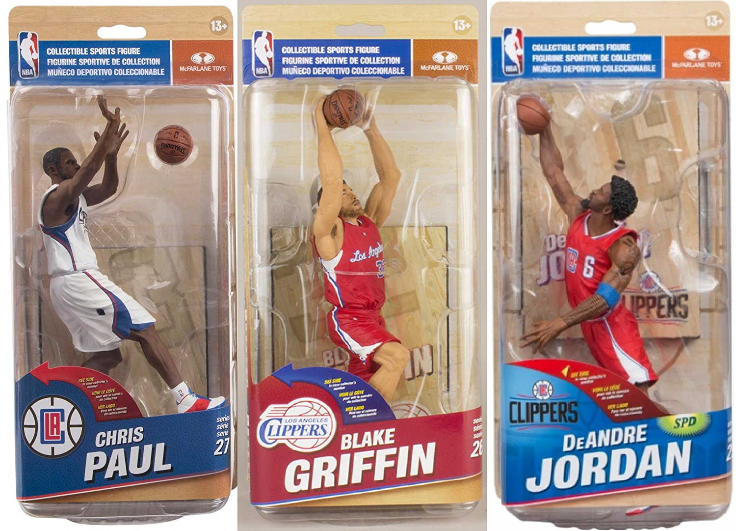 9b6bd5a362e5d3 Get Quotations · McFarlane Toys NBA Los Angeles Clippers - Chris Paul  (White Jersey)