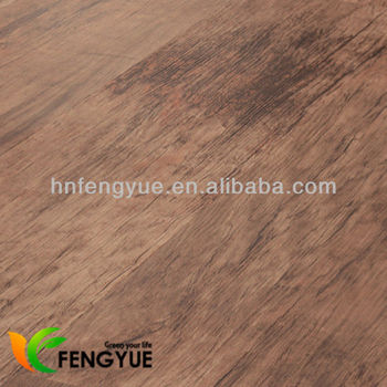 Wooden Texture Recycle Pvc Interlocking Bathroom Floor Tiles