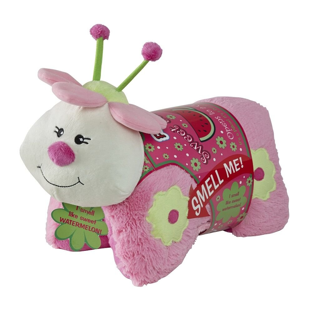 Pillow Pets Sweet Scented Pets - Watermelon Ladybug, Watermelon Scented Animal Plush Toy
