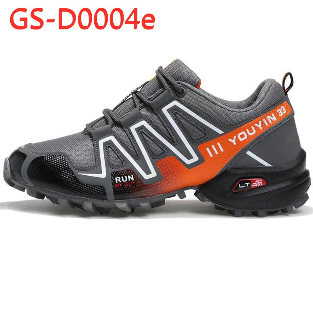 4 colors autumn / winter man sports shoes anti slip climbing outdoor shoes GS-D0004
