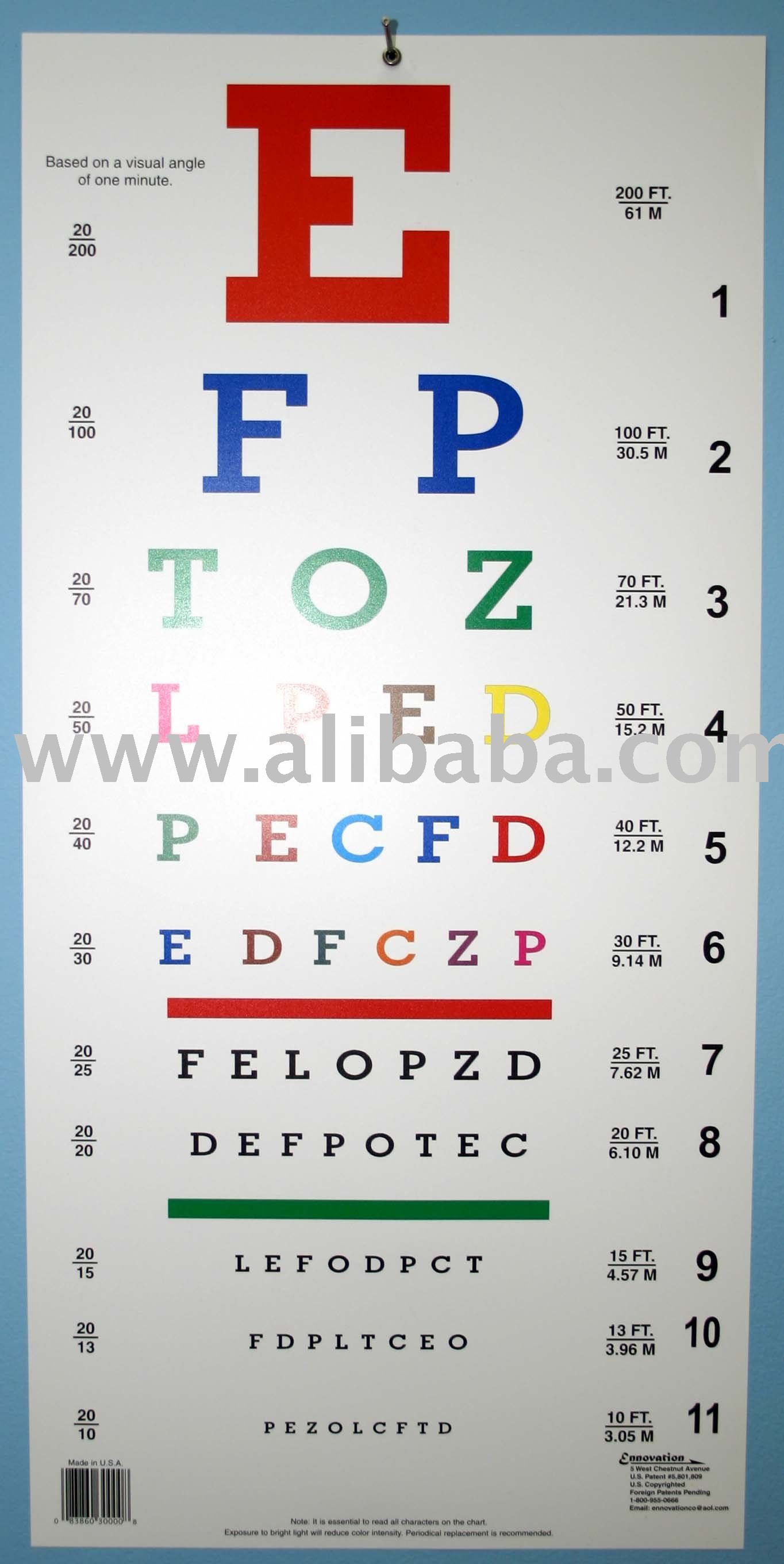 Alphabetical color eye chart buy color vision eye chart product on alphabetical color eye chart buy color vision eye chart product on alibaba geenschuldenfo Gallery