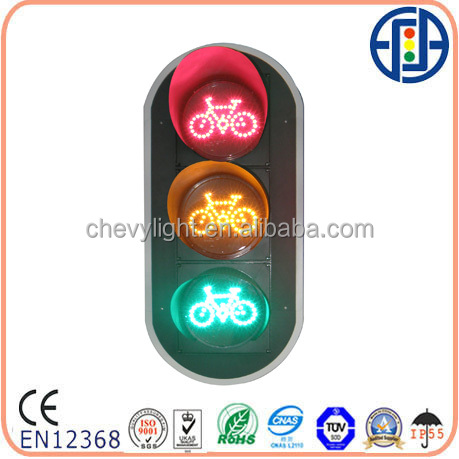 200mm Red Yellow Green Non-motorvehicle Traffic Signal Light