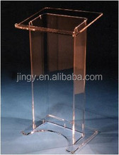 clear acrylic church pulpit