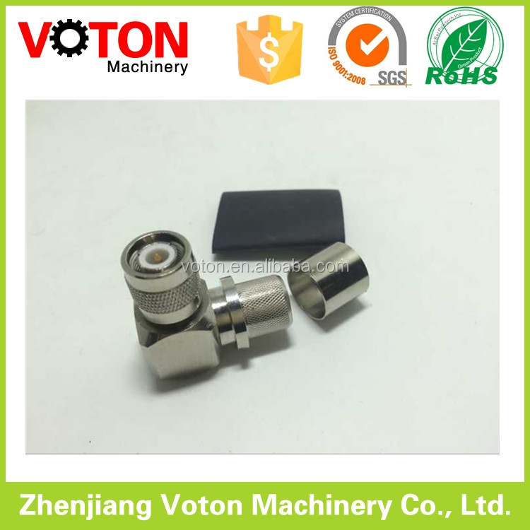 TNC Right Angle Connector for Coaxial Cable RF Conector