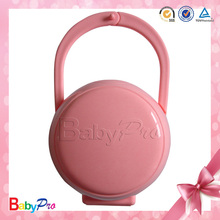 Babypro PB01 China Supplier BSCI Factory Silicone Baby Pacifier Container With Factory Price