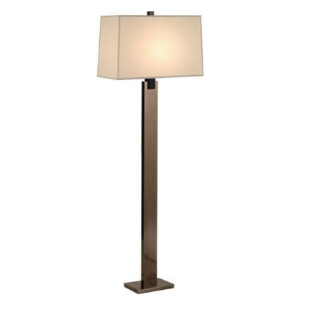 modern dark brown wood floor lamp for living room