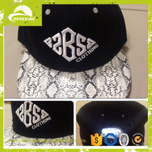 leather strap back hats/leather snapback/baby hat snapback cap