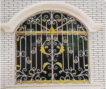 The New Design Iron Window Grill Color