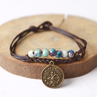 Fashion handmade bracelet zodiac sign bracelet wholesales NS800177
