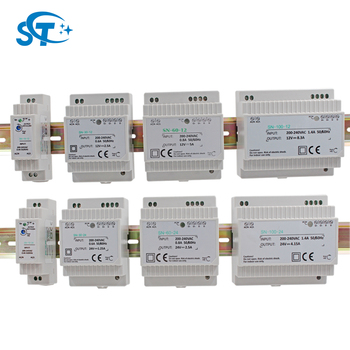 12v dc din rail power supply din rail adapter door bell transformer 1.25A 2.5A 5A 8.3A 15W 30W 60W 100W Din