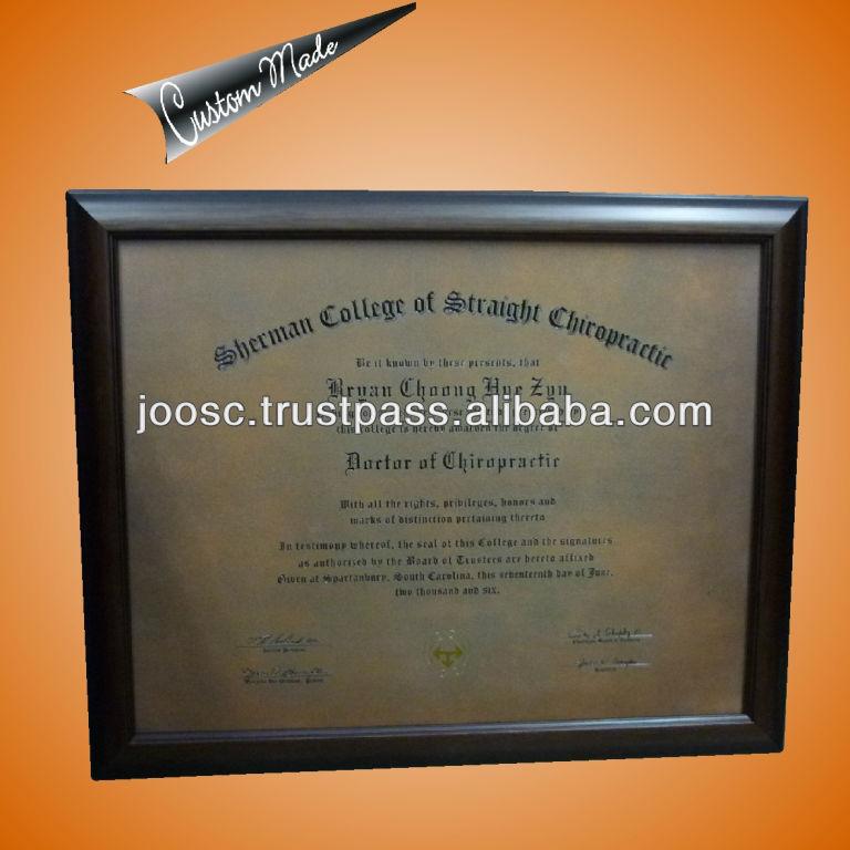 Finden Sie Hohe Qualität Zertifikat Plakettenrahmen Hersteller und ...
