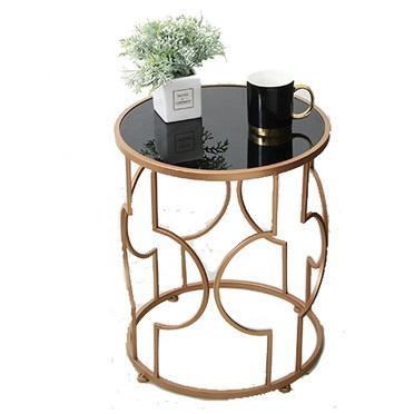 Moderno Creativo Del Metallo Geometrica Casa di Design di Tè Tavolino Scaffale