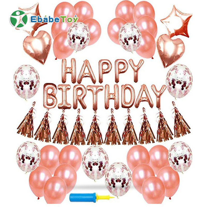 Glossy Metal Pearl marble confetti latex balloon for  wedding birthday party  Supplies decoration Inflatable  foil  ballon