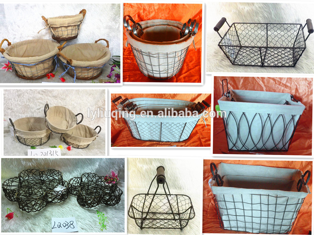 Wicker Basket Manufacturers South Africa : Best selling hand knitting cup shape wicker plant basket