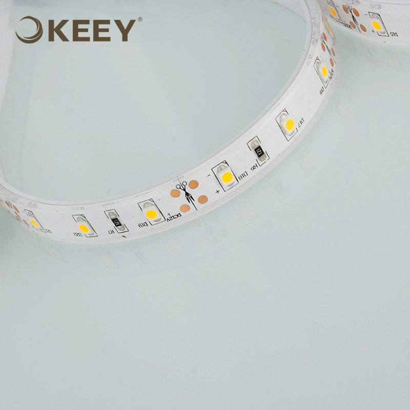 2018 keey high quality bright soft 5050 led strip light 12w led flexible strip light for outdoor use DD603-1