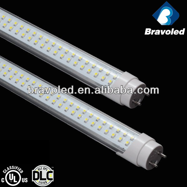 CE/UL/DLC listed, 5years warranty, 100lm/w, good price, led tube t8 1200mm