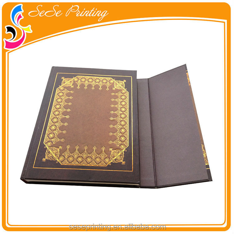 Promotional Custom School made notebook with embossed logo print