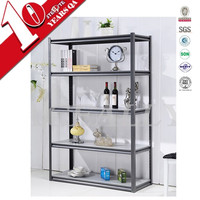 Steel Powder Coating Metal Painting Kitchen Storage Rack with Wheels