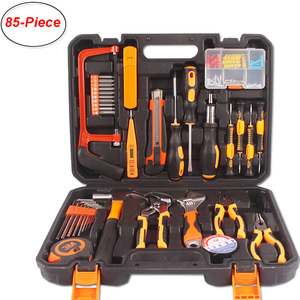 38-Piece Household Repair Tool Kits Multi-function Universal Precision Screwdriver Hammer Woodworking Tools Set