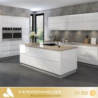 HOT SALE 2018 New Model Australia Bespoke Custom White Lacquer Modern Kitchen Cabinets