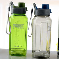 bpa free 600ml pc plastics sport water bottle with handles caps personalized water bottle plastic drinking bottle