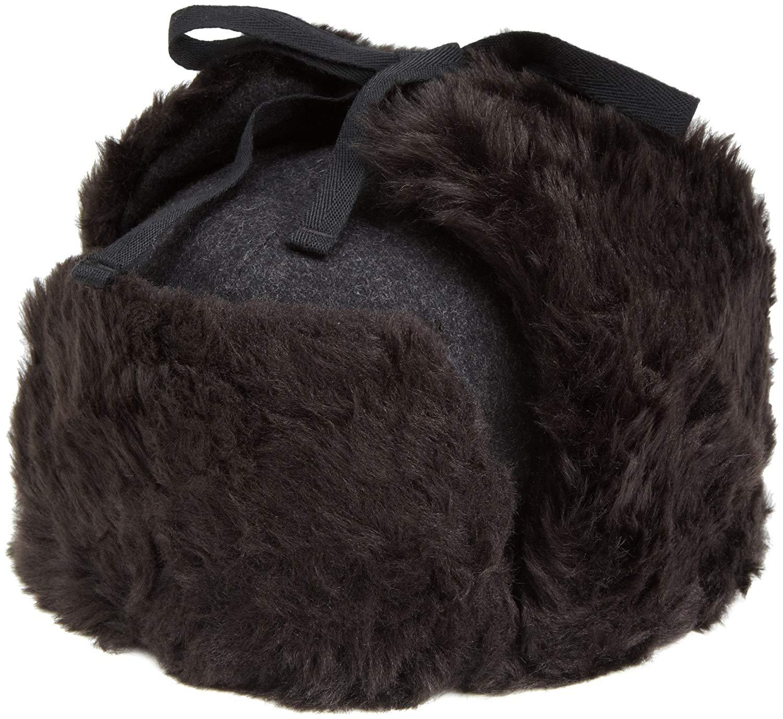 f265a4719cb37 Kangol Men s Wool Ushanka Hat