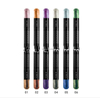 Air Cushion Two Heads Silkworm Eyeshadow Pencil Pearlescent pencil Eye shadows with double-headed shades