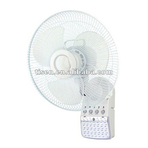 Rechargeable Wall Mounted Fan With Light