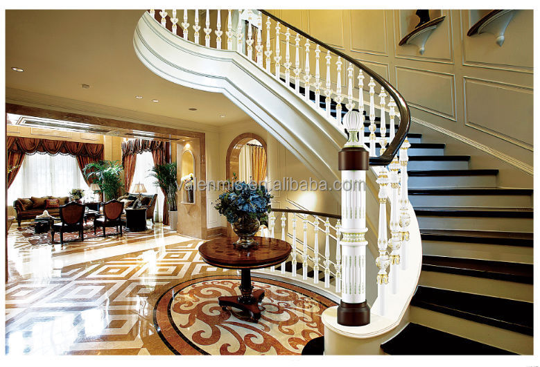 The Stair Rail Accessories With Aluminum Iron Balcony Railings
