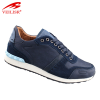 New fashion italian footwear faux leather men casual shoes
