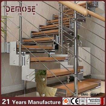 Merveilleux Hardwood Stairs / Residential Steel Stairs / Diy Floating Stairs