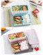 InterDesign Refrigerator and Freezer Divided Storage Container Lunch Box