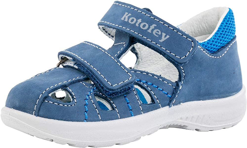 7dfb4bf664d31 Get Quotations · Kotofey Toddler Boy Sandals 132120-21 Genuine Leather  Orthopedic Shoes with Arch Support