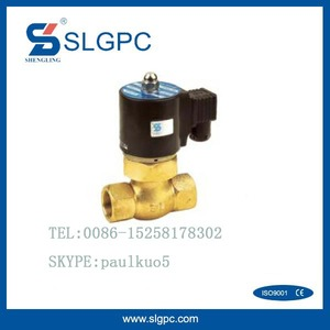 Steam type 2 way DIN electric float industry solenoid valve GBS-2L200-25D