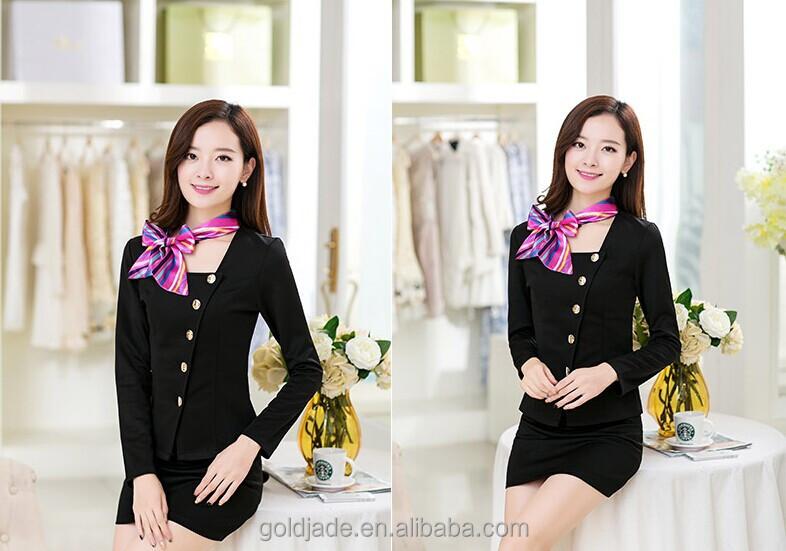 Modern hotel receptionist uniforms for women buy hotel for Uniform for spa receptionist