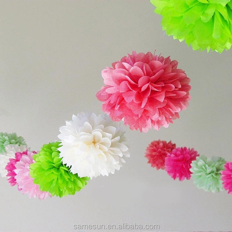 2016 Tissue Paper Flower Ball Wholesale For Wedding Party