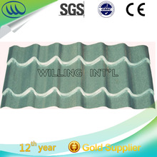 Popular Good quality Colorful Stone Coated Metal Roofing Tile