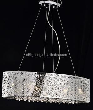 Oval shape steel modern crystal chandelier and pendant light buy oval shape steel modern crystal chandelier and pendant light mozeypictures Images